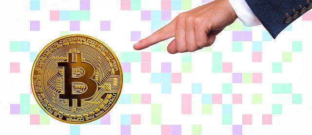 ukázka bitcoinu