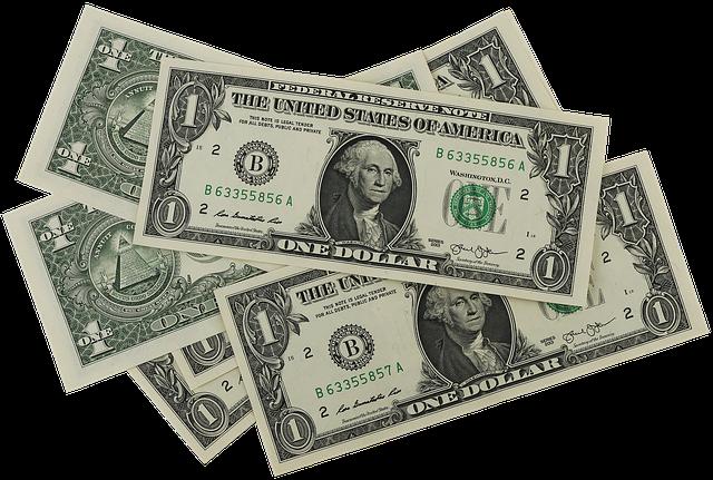 papírové dolarovky