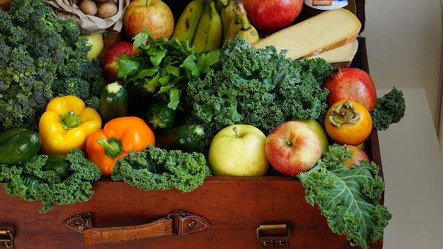 kufr potravin
