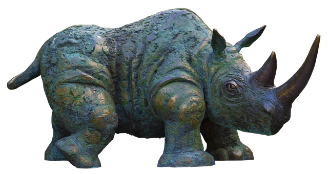socha nosorožce