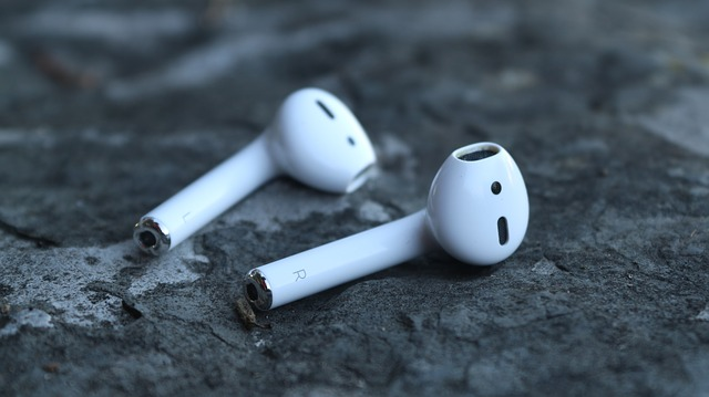 sluchátka značky Apple